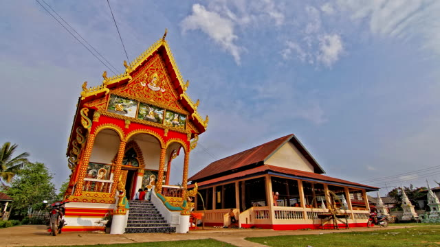 Buddhist Church. Time Lapse, HDR style