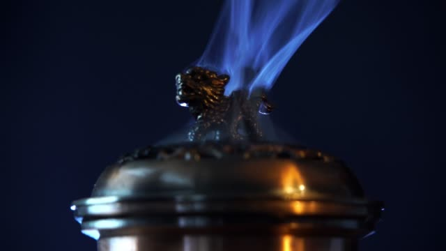 buddhist incense - alternative therapy stock videos & royalty-free footage