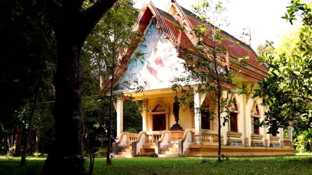 Buddhist Temple, Old Town, Ko Lanta, Krabi, Thailand