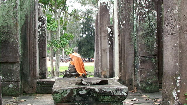 buddhist view - cambodian culture stock videos and b-roll footage