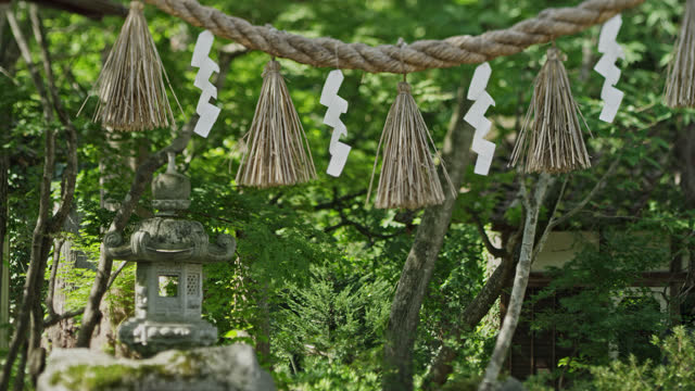 buddist temple in japan - shrine stock videos & royalty-free footage