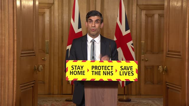 rishi sunak press conference; press conference part 2 of 10 england: london: westminster: 10 downing street: int rishi sunak mp statement sot. -... - stretching stock videos & royalty-free footage