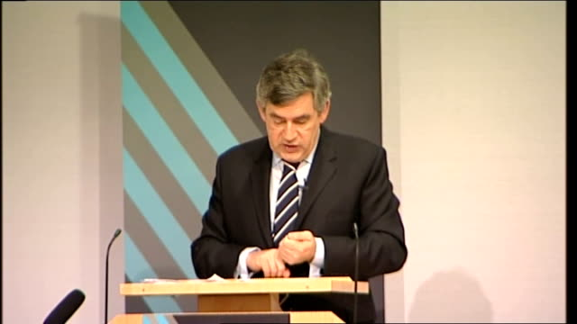 gordon brown speech to royal society gordon brown speech sot and we will be benchmarking the whole of the prison and probation system by 2011 and we... - probation stock videos and b-roll footage