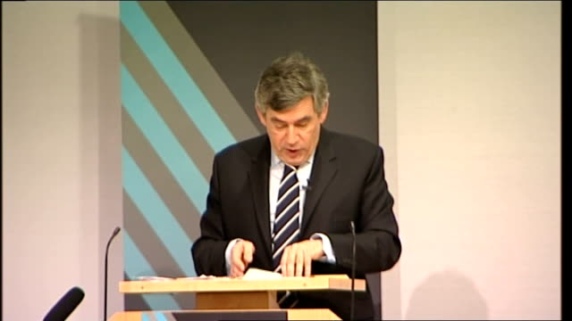 gordon brown speech to royal society; gordon brown speech continued sot and today i can announce that we will invest a further â£30 million with uk... - 12 13 years stock videos & royalty-free footage