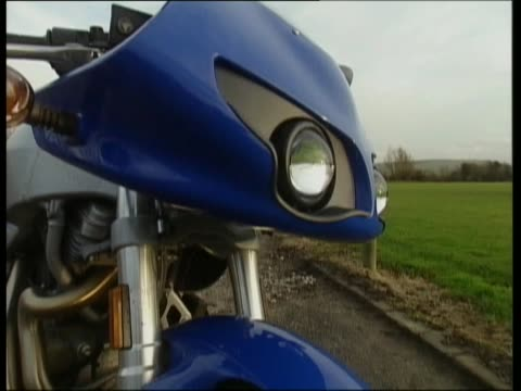buell firebolt - biker jacket stock videos and b-roll footage