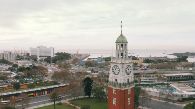 vídeos de stock e filmes b-roll de buenos aires aerial view - buenos aires