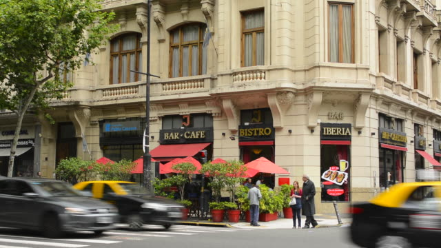 Buenos Aires Argentina city restaurant called Iberis Bistro Cafe on Ave de Mayo downtown