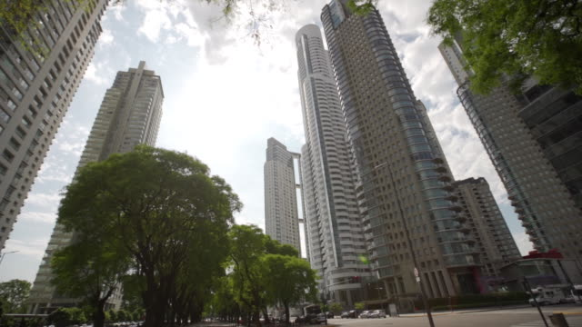 buenos aires buildings - buenos aires stock videos & royalty-free footage
