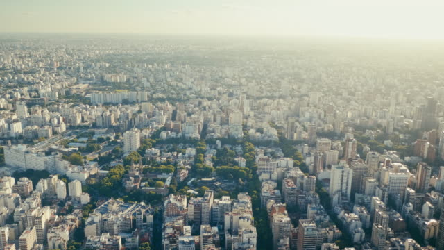 buenos aires cityscape, palermo - puerto madero stock videos and b-roll footage