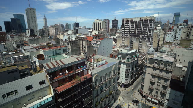 buenos aires cityscape - puerto madero stock videos & royalty-free footage