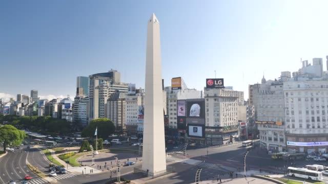 Obélisque de Buenos aires plaza de la Republica