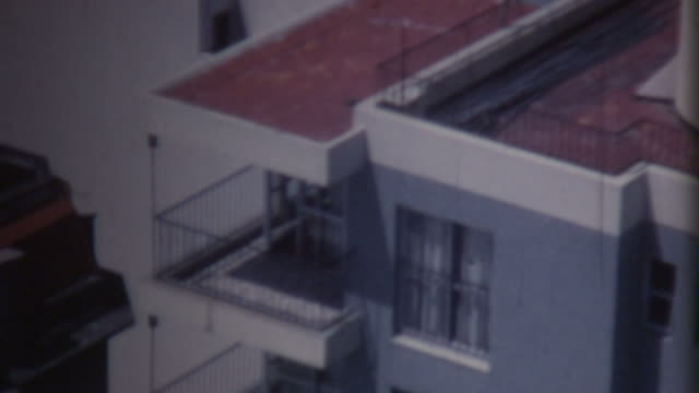 buenos aires rooftop 1972 - 1972 stock videos and b-roll footage