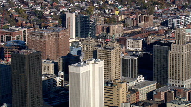 buffalo - aerial view - new york,  erie county,  united states - american bison stock videos & royalty-free footage