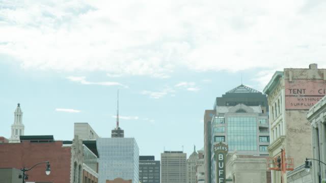 buffalo theatre district, buffalo, ny usa - buffalo new york state stock videos & royalty-free footage