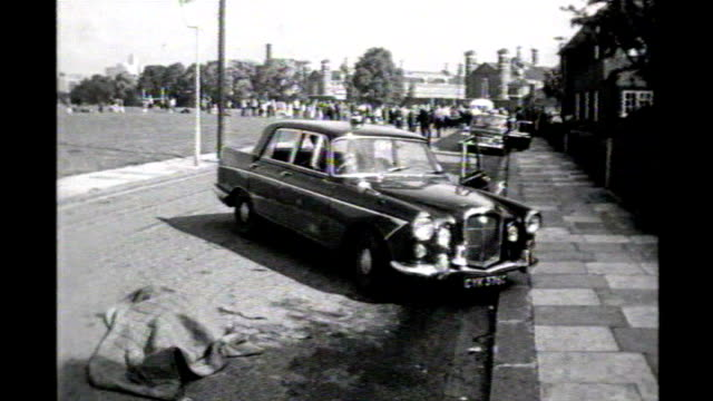 bugging controversy involving convicted murderer harry roberts 1966 london east acton braybrook street w footage police officers at scene where 3... - criminal stock videos and b-roll footage