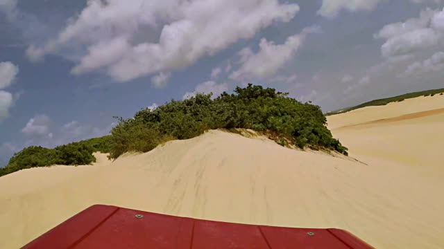 buggy drive along the beach - dune buggy stock videos and b-roll footage