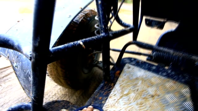buggy  riding - golf cart stock videos and b-roll footage
