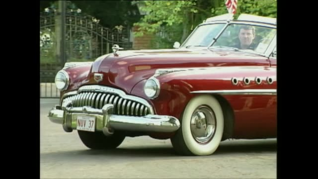 1948 buick dynaflow - vintage car stock videos and b-roll footage