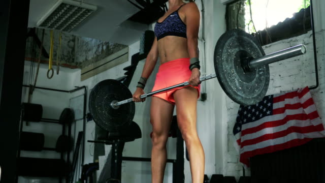 build your body, build your character and satisfaction will come - weightlifting stock videos & royalty-free footage