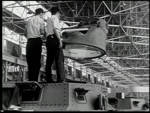 building a tank: a defense report on film - 14 of 19 - see other clips from this shoot 2322 stock videos & royalty-free footage