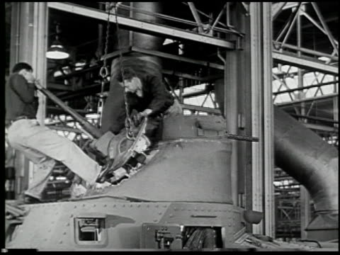 building a tank: a defense report on film - 16 of 19 - see other clips from this shoot 2322 stock videos & royalty-free footage