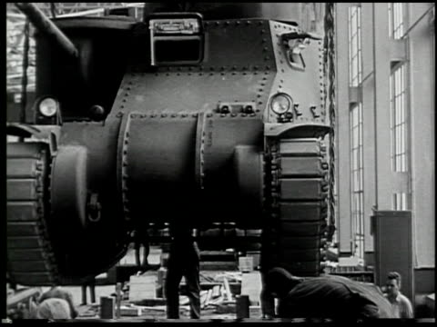 building a tank: a defense report on film - 17 of 19 - see other clips from this shoot 2322 stock videos & royalty-free footage