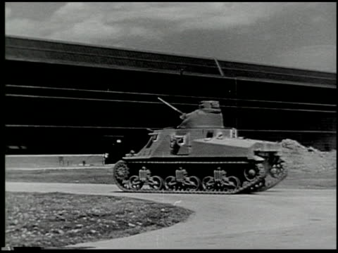 building a tank: a defense report on film - 3 of 19 - see other clips from this shoot 2322 stock videos & royalty-free footage