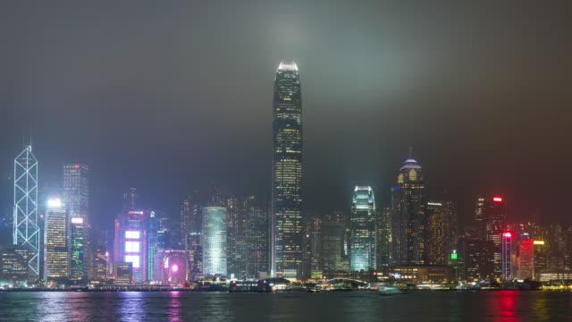 stockvideo's en b-roll-footage met 4k tl: gebouw en wolkenkrabber in hong kong stad. - hong kong