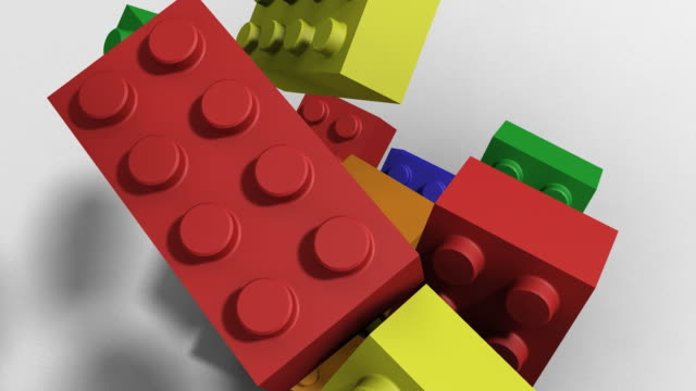 building blocks - block shape stock videos & royalty-free footage