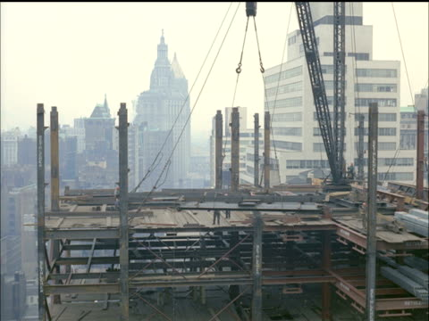 building construction in new york city - 1964 stock videos and b-roll footage
