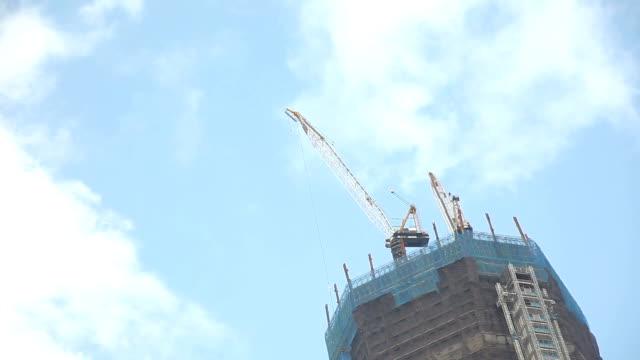 Building Construction Site Time Lapse