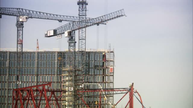 building cranes, sweden. - preschool child stock videos & royalty-free footage