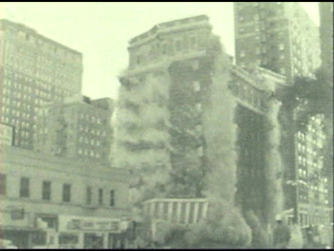 building demolition - history stock videos & royalty-free footage