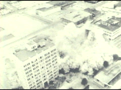 building demolition - imploding stock videos and b-roll footage