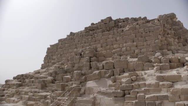 building, giza, egypt - stone material stock videos & royalty-free footage