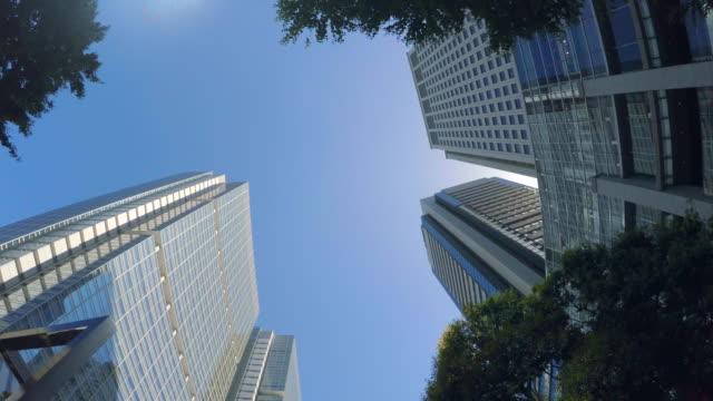building - look up -4k- - plusphoto stock videos & royalty-free footage