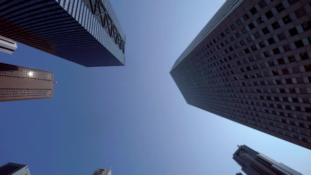 building - look up at the sky - plusphoto stock videos & royalty-free footage