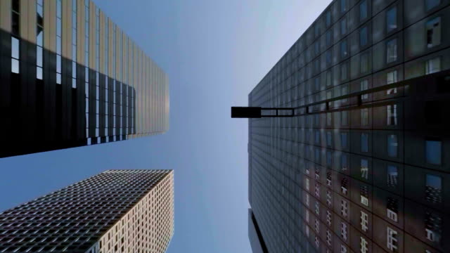 building - look up at the sky - vanishing point stock videos & royalty-free footage