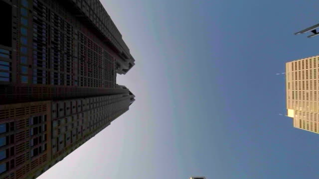 Building - look up at the sky