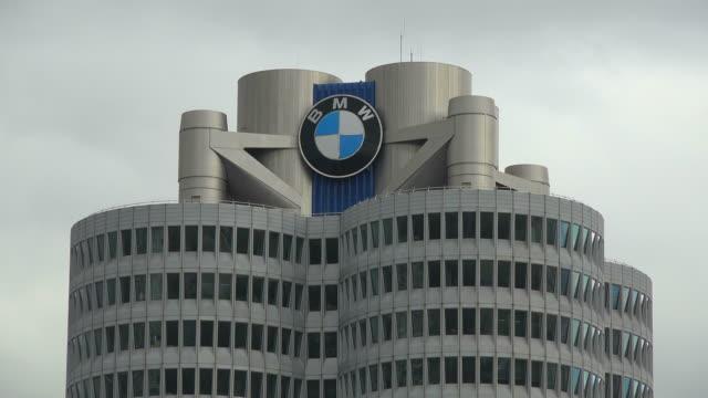 BMW Building, Munich, Upper Bavaria, Bavaria, Germany