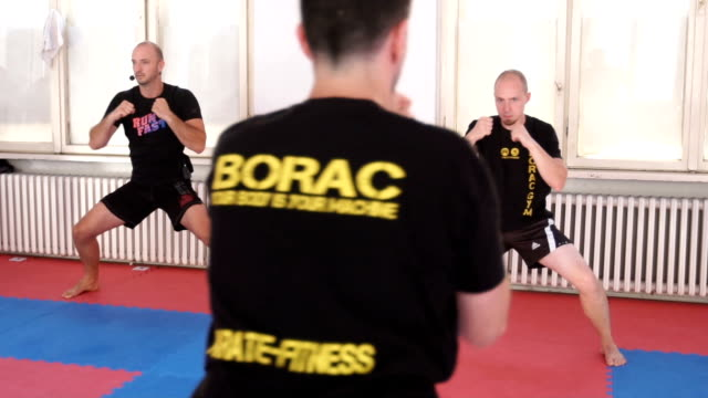 building power and stamina - self defense stock videos and b-roll footage