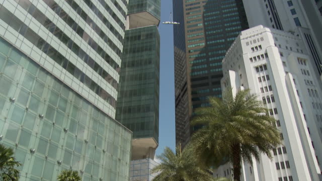 hsbc building, singapore - hsbc main building stock videos and b-roll footage