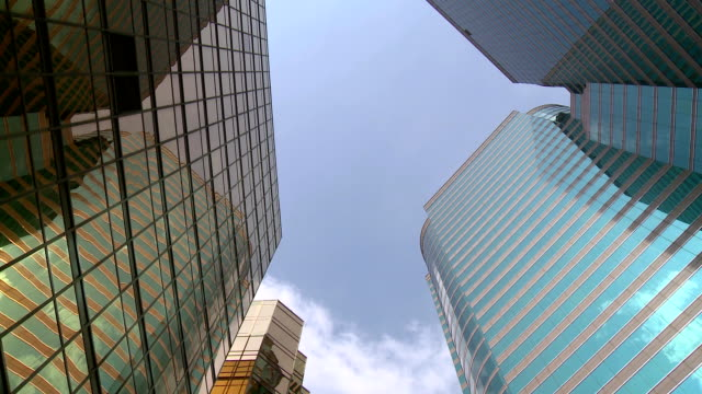 building sky - curtain wall facade stock videos and b-roll footage