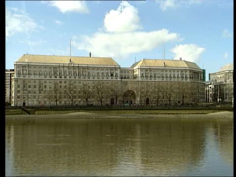 mi5 building - イギリス情報局保安部点の映像素材/bロール