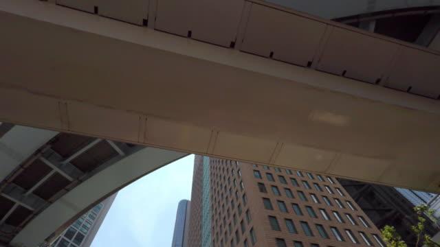 Building - walking - look up