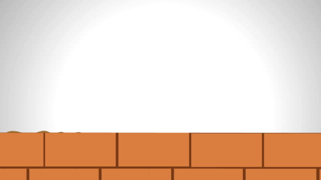 building wall - brick stock videos & royalty-free footage