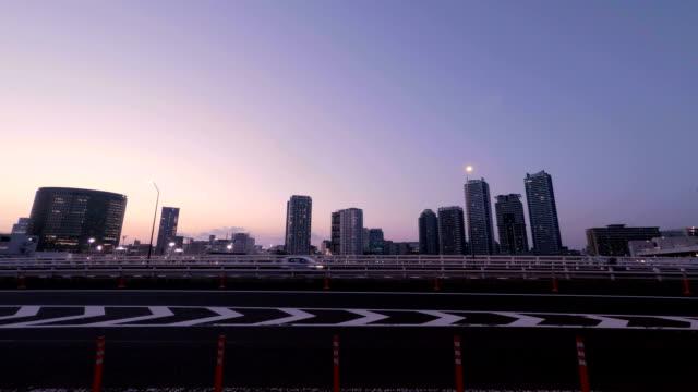 buildings and bridge at dusk - metropolitan museum of art new york city stock videos & royalty-free footage