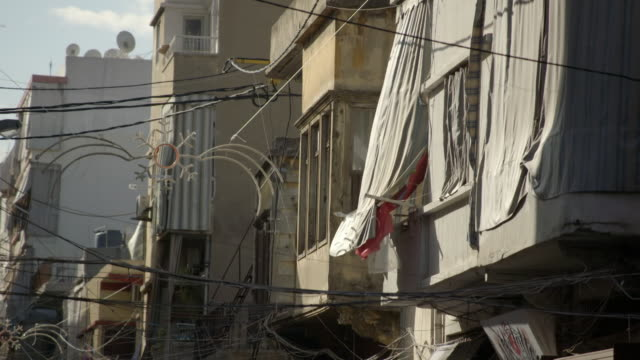 buildings and streets of bourj hammoud near beirut - eastern european culture stock videos & royalty-free footage