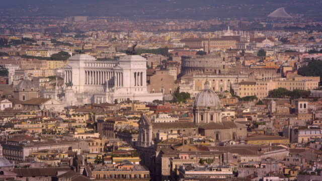 buildings around the altare della patria - altare della patria stock videos and b-roll footage
