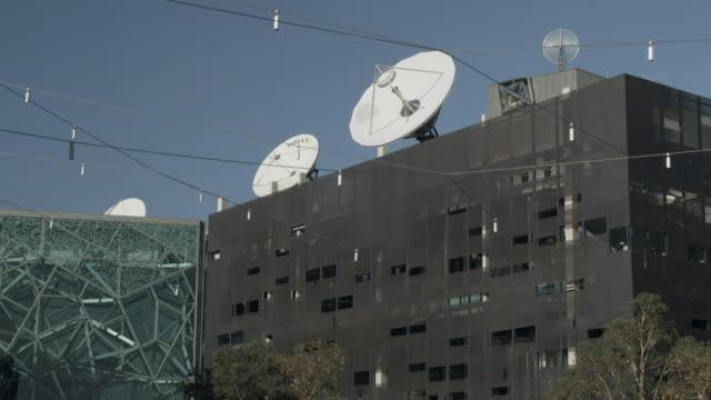MS TU Buildings at Federation Square, Melbourne, Victoria, Australia